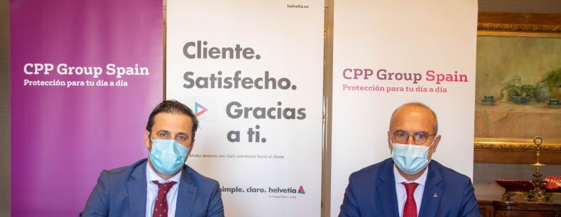 CPP Group Spain firma un acuerdo con Helvetia Seguros